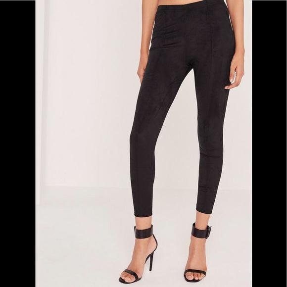 9a2bc03860076 Seven7 Pants | New Seven 7 Faux Suede Leggings Black | Poshmark